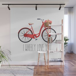 I Wheely Love You Wall Mural