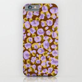 Drunken Cheetah 06 iPhone Case