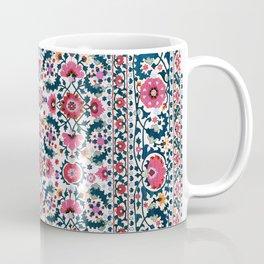 Shakhrisyabz Suzani Uzbekistan Embroidery Coffee Mug