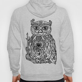 Day of the Dead Owl Hoody