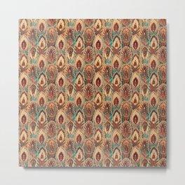 bizarre feathers pattern Metal Print