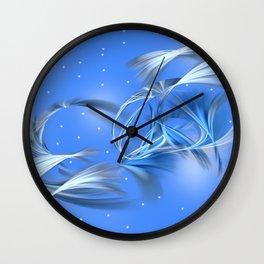 Snow Elves Wall Clock