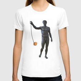 Playing with my Yo Yo T-shirt