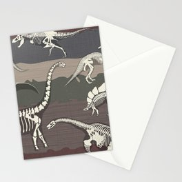 Dinosaur's Dig Stationery Cards