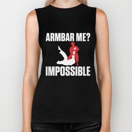 Armbar Me? Impossible Funny BJJ Jiu-Jitsu Biker Tank