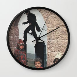 Outdoor Shenanigans Wall Clock