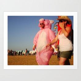 Pig Life - Bonnaroo 2008 Art Print