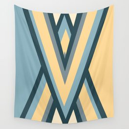 Colored triangles Wall Tapestry