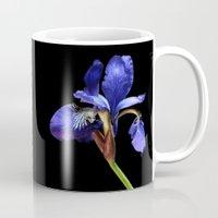 iris Mugs featuring Iris by Artemio Studio