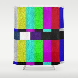 TV SCRN Shower Curtain