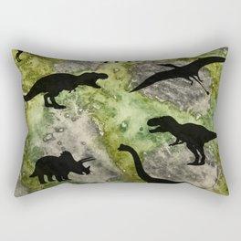Dino Land Rectangular Pillow