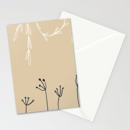 Wreathe & Flowers Stationery Cards