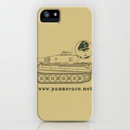 Michael Wittmann Panzer Ace 1331 Kursk Sand/Olive Green iPhone Case