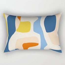 Me & Mine #abstract #painting Rectangular Pillow