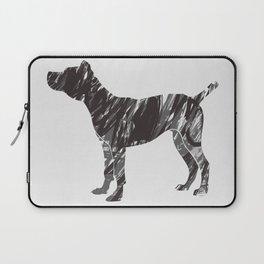 black dog Laptop Sleeve