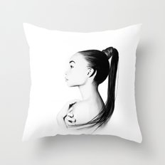 Ashley Moore  Throw Pillow