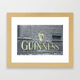 St James Gate, Dublin Framed Art Print