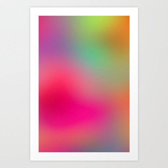 Color Study 01 Art Print