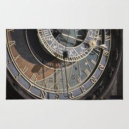 Astronomical clock Prague Rug