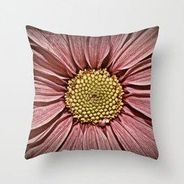 Distressed Petals fine art photography Throw Pillow