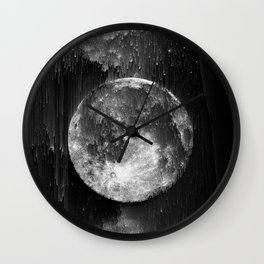 the moon, the end Wall Clock