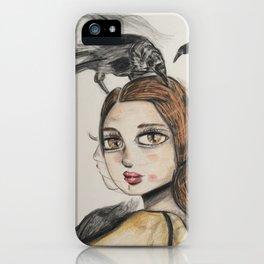 Raven series. iPhone Case