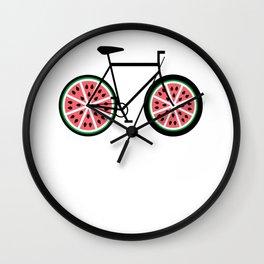 Bicycle Bike Fixie Singlespeed Shirt Racebike Wall Clock