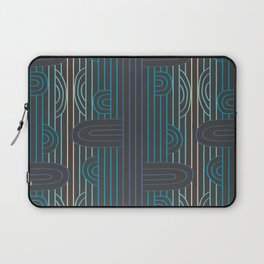 art deco stripe Laptop Sleeve