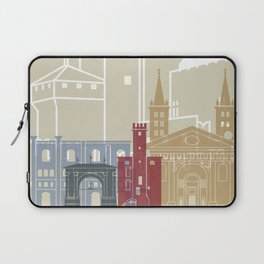 Aosta skyline poster Laptop Sleeve
