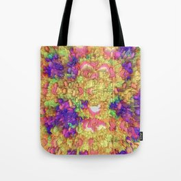 Neon Extrusion III Tote Bag