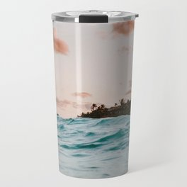 summer sunset iv Travel Mug