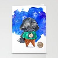 vader Stationery Cards featuring Vader by gunberk