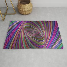 Psychedelic colors Rug