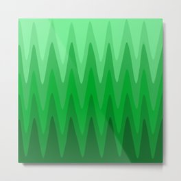 Modern Grass Metal Print