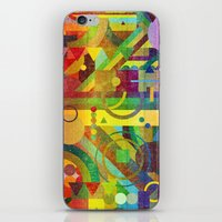 kandinsky iPhone & iPod Skins featuring Future Patterns. by Nick Nelson