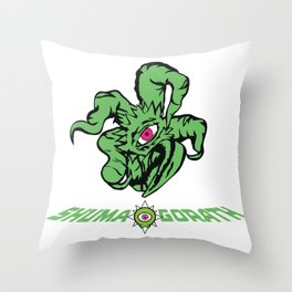 GOD OF CHAOS Throw Pillow