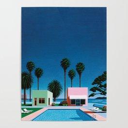 Hiroshi Nagai Art Print Poster Vaporwave Aesthetic Poster