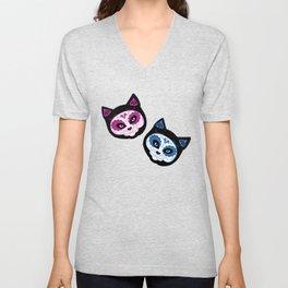 Sugar Kitties Unisex V-Neck