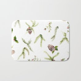 Holiday Plant Extravaganza Bath Mat