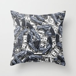 Daylight Robbery Throw Pillow
