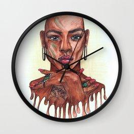 INCARNATION I @EdART Wall Clock