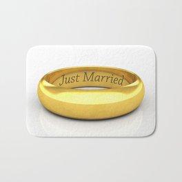 Just married Bath Mat