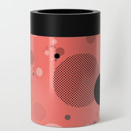 Coral Dots Can Cooler