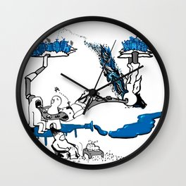 On and on Wall Clock