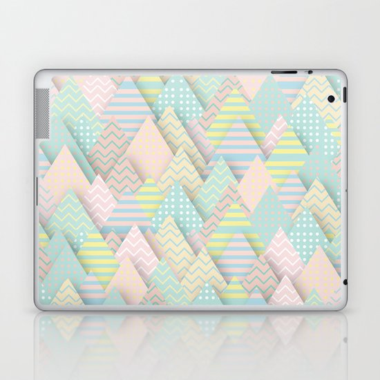 Forest Pastel Laptop & iPad Skin