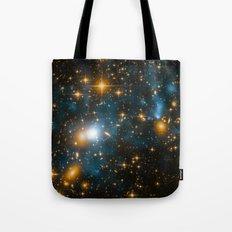 Cosmos 2, when stars collide (enhanced) Tote Bag