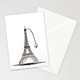 Love in paris Stationery Cards