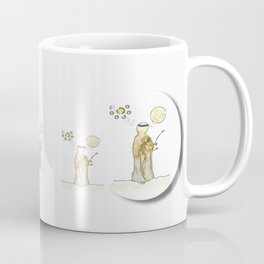 angels under the  sun and peace doves Coffee Mug