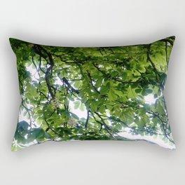 Greenery and leaf VIII Rectangular Pillow