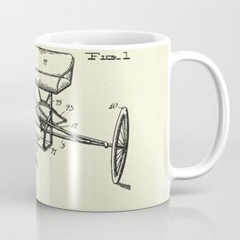 Seat Supporting Bicycle Extension Frame-1903 Coffee Mug
